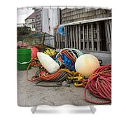 Peggy's Cove 21 Shower Curtain by Betsy C  Knapp