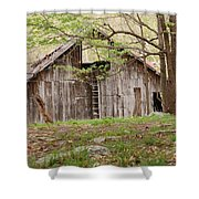 Pendleton County Barn Shower Curtain by Randy Bodkins