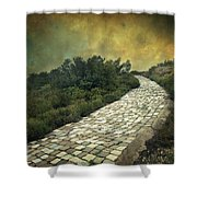 Perdus Et Trouves Shower Curtain by Taylan Soyturk