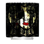 Personality Shower Curtain by Natalie Holland