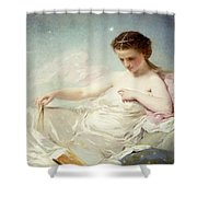 Personification of the Sciences Shower Curtain by Charles Chaplin
