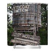 Petticoat Junction Shower Curtain by Kristin Elmquist