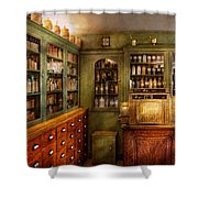 Pharmacy - Room - The Dispensary Shower Curtain by Mike Savad