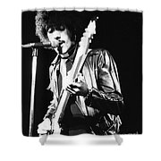 Phil Lynott Shower Curtain by David Fowler
