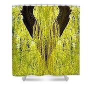 Photo Synthesis 5 Shower Curtain by Will Borden