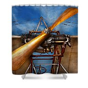 Pilot - Prop - They Don't Build Them Like This Anymore Shower Curtain by Mike Savad