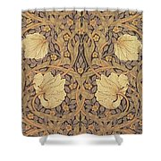 Pimpernel Wallpaper Design Shower Curtain by William Morris