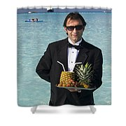 Pina Colada Anyone Shower Curtain by David Smith