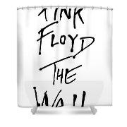 Pink Floyd No.01 Shower Curtain by Caio Caldas