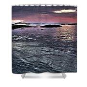 Pinkyblue Horizon 2 Shower Curtain by Heiko Koehrer-Wagner