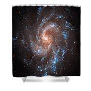 Pinwheel Galaxy Shower Curtain by The  Vault - Jennifer Rondinelli Reilly