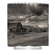 Pioneer Barn D9369 Shower Curtain by Wes and Dotty Weber