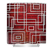 Pipeline Shower Curtain by Shawna  Rowe