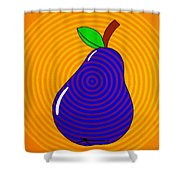 Piriform Shower Curtain by Oliver Johnston