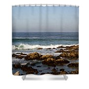 Pismo Beach Seascape Shower Curtain by Barbara Snyder