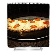 Pizza Pie - 5D20701 Shower Curtain by Wingsdomain Art and Photography