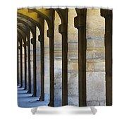 Place Des Vosges Paris, France Shower Curtain by Ingrid Rasmussen