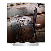 Plane - A little rough around the edges Shower Curtain by Mike Savad
