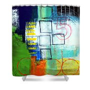 Playground Shower Curtain by Linda Woods