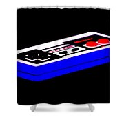 Playing With Power Shower Curtain by Benjamin Yeager