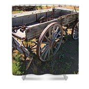 Please Dont Kick The Tires Shower Curtain by John Malone