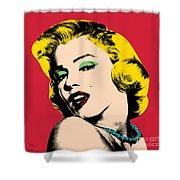 Pop Art Shower Curtain by Mark Ashkenazi