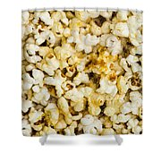 Popcorn - Featured 3 Shower Curtain by Alexander Senin