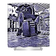 Porch Pickin Shower Curtain by Bartz Johnson