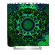 Portal Shower Curtain by Elizabeth McTaggart