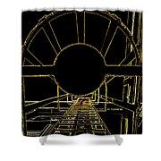 Portal Shower Curtain by Guy Pettingell