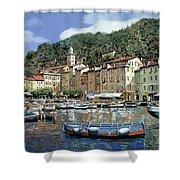 Portofino Shower Curtain by Guido Borelli