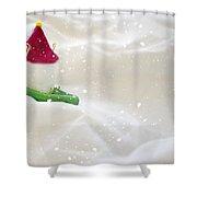 Powdered Sugar Shower Curtain by Heather Applegate