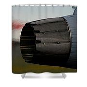 Power II Shower Curtain by Paul Job
