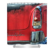 Powerflite Shower Curtain by Bob Christopher