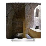 Pozzo San Patrizio/St. Patrick's Well  Shower Curtain by Alan  Socolik