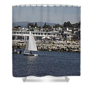 pr 193 - The Sailboat Shower Curtain by Chris Berry