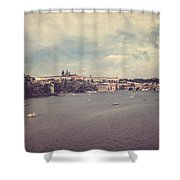 Prague Days II Shower Curtain by Taylan Soyturk