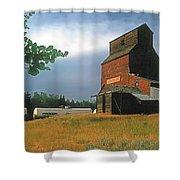 Prairie Sentinel Shower Curtain by Terry Reynoldson