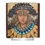 Pre-inca 3 Shower Curtain by Jane Whiting Chrzanoska