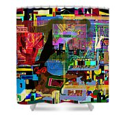 precious is man for he is created in the Divine Image 13 Shower Curtain by David Baruch Wolk