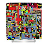 precious is man for he is created in the Divine Image 4 Shower Curtain by David Baruch Wolk