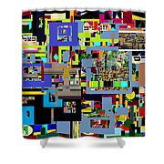 precious is man for he is created in the Divine Image 5 Shower Curtain by David Baruch Wolk