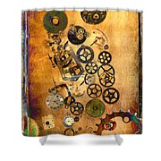 Present Shower Curtain by Fran Riley