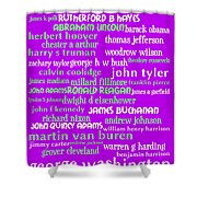 Presidents of The United States 20130625p60 Shower Curtain by Wingsdomain Art and Photography