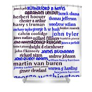 Presidents Of The United States 20130625whi Shower Curtain by Wingsdomain Art and Photography