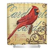 Pretty Bird 1 Shower Curtain by Debbie DeWitt