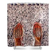 Prints Of Greatness Shower Curtain by Benjamin Yeager