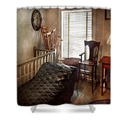 Psychiatrist - The Shrink Shower Curtain by Mike Savad