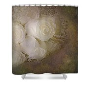 Pure Roses Shower Curtain by Susan Candelario