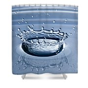 Pure Water Splash Shower Curtain by Anthony Sacco